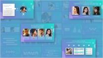 IOS风格高端商务模板