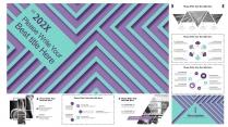 [線條視覺感]歐美創意簡約數據分析報告模板示例3