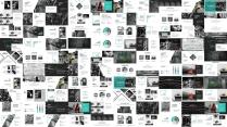 【黑白】欧美简约毕业作品展示PPT通用模板示例5