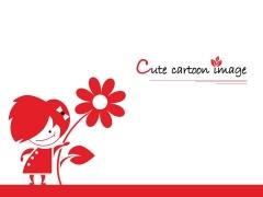 可爱卡通形象模板