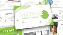 【简约商务】绿色高端经典商业汇报PPT模板