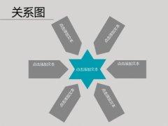 经典灰色商务PPT模板示例3