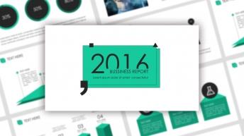 【杂志风格】超实用网页风格商业汇报模板