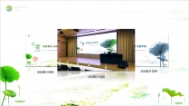 【动画】清新荷韵之绿中国风模板示例6