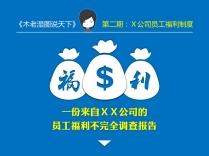 【木先生完全不负责研究所】X公司员工福利调查报告示例2