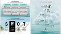【碧海蓝天】极简高端大气蓝色商务报告年终汇报总结示例7