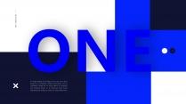 【极简主义9】上帝不小心打翻蓝色的颜料盘&创意杂志示例3