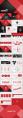 红黑潮流时尚商务PPT模板合集(四套112页)示例3