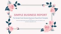 【小清新】简约通用总结计划商务项策划报告模板11