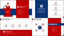 【双配色】大气企业文化/公司介绍/工作总结PPT示例6