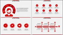 红色杂志风图文混排工作总结PPT模板(二)示例6