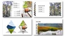 时尚图文产品图片介绍动态展播可编辑填色--(菱形)示例6