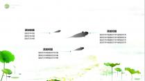 【动画】清新荷韵之绿中国风模板示例4