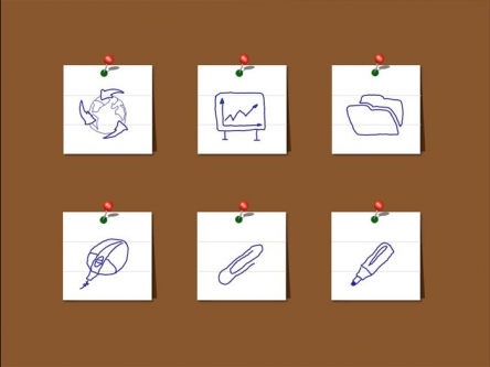 ppt素材 ppt元素 纯ppt手绘图标(12枚)  我们精于设计,印刷,制作,还有