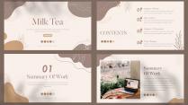 【耀你好看】奶茶色素雅简约模板示例3