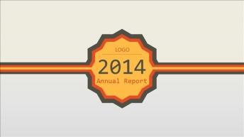 【六边形】年度总结报告简约商务PPT