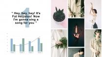 【日式大理石】视觉典雅干净轻松水彩高级多用途模版示例7