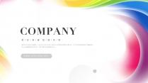 【色彩】炫丽青春色彩商务通用模板