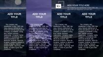 【深蓝山峰】黑紫色山峰简洁大气欧美商务计划年终模版示例7