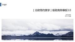 【北欧简约美学】极致商务模板3.0示例2