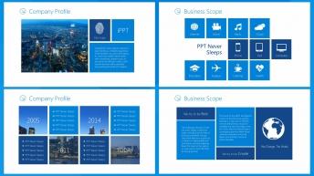 【Win8 Metro】公司产品服务项目等商务介绍示例4