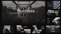 商务 多图 版式 # 欧美视觉时尚模板示例3