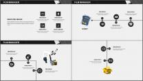 大气极简黑白配商务通用PPT模板示例5
