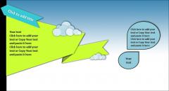 【yjy】清新绿色简约欧美风商务PPt模板示例4