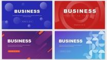 【四套】商务互联网通用大气企业文化年终总结报告