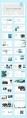 【luxury】蓝色清新大气杂志风模板示例3