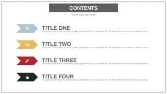 【双比例】日系配色简洁商务风示例3