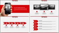 红色杂志风图文混排工作总结PPT模板(二)示例5