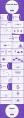 超优雅的紫色清新简约商务汇报模板示例3
