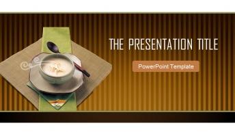 精美实用餐饮行业PPT模板2