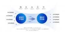 【商务】白蓝扁平化超实用主义通用模板11示例5