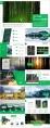 【震惊boss】森系绿色欧美杂志风商务模板示例8