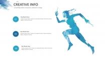 创意水墨蓝总结报告工作计划商务策划模板示例5