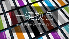 【001】【一键换色】【全占位符】实用大气通用模板