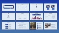【keynote】简约流畅商务汇报模板(八套合集)示例7