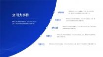【商务】蓝色极简年终总结及工作规划15示例5