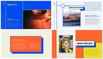 【极简】绚烂多彩的线框艺术示例4