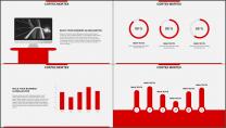 红色杂志风图文混排工作总结PPT模板(二)示例7