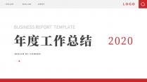 【简约商务】动态中文换色通用年终总结PPT模板