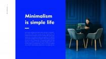 【极简主义9】上帝不小心打翻蓝色的颜料盘&创意杂志示例4