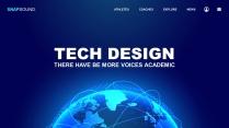 蓝色地球公司介绍企业宣传品牌发布PPT示例2