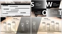 【黑金】高端大气极简通用商务报告年终汇报项目总结示例7