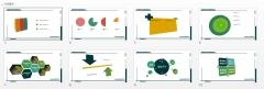 【壹弹发布】军绿色高端深度商务模版(多图表)示例2