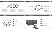大气极简点线创意商务模板第十三弹示例4
