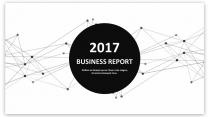 经典黑白创意点线总结报告工作计划商务策划模板02