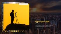 【年度报告】欧美风城市系列简约大气PPT模板示例4